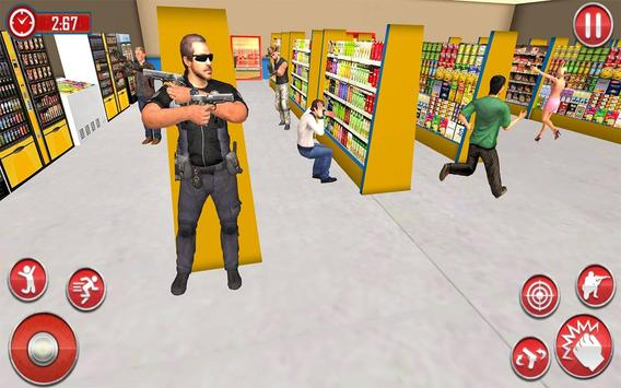 US Police Super Captain Hero City Rescue Mission screenshot 11