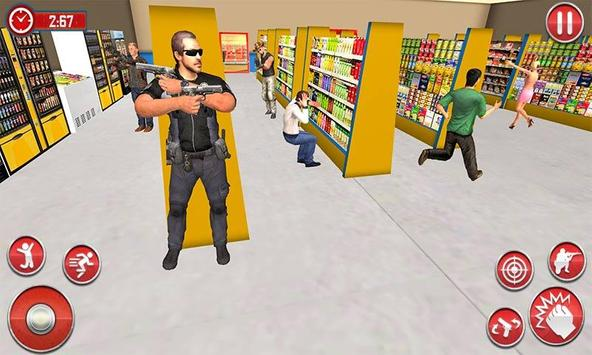 US Police Super Captain Hero City Rescue Mission screenshot 3