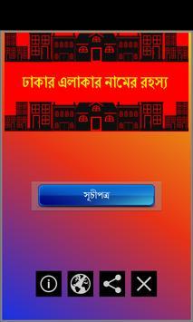 Dhakar Elakar Namer Rohosso poster