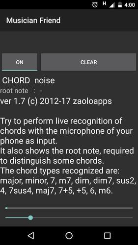 Musician Friend Chord Detector Apk Download Free Music Audio App