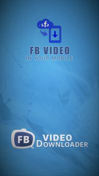 FB Video Downloader 4 Facebook poster