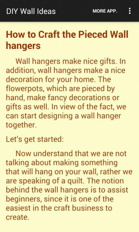DIY Wall Decorating Ideas APK Download - Free House & Home APP for ...