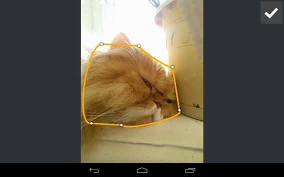 Podzalivka Editor apk screenshot