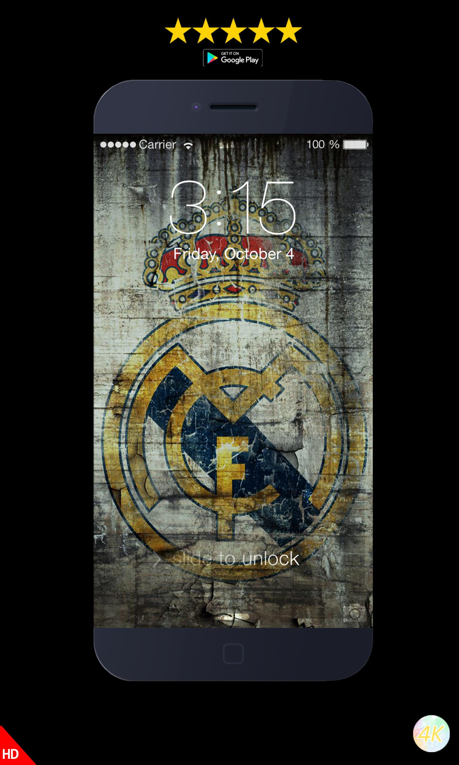Real Madrid CF Wallpapers HD 4K For Android APK Download