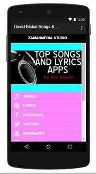 David Bisbal Songs & Lyrics screenshot 2