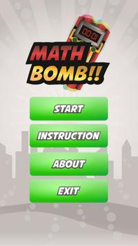 Math Bomb screenshot 1