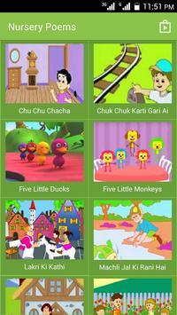 Urdu Nursery Poems apk screenshot