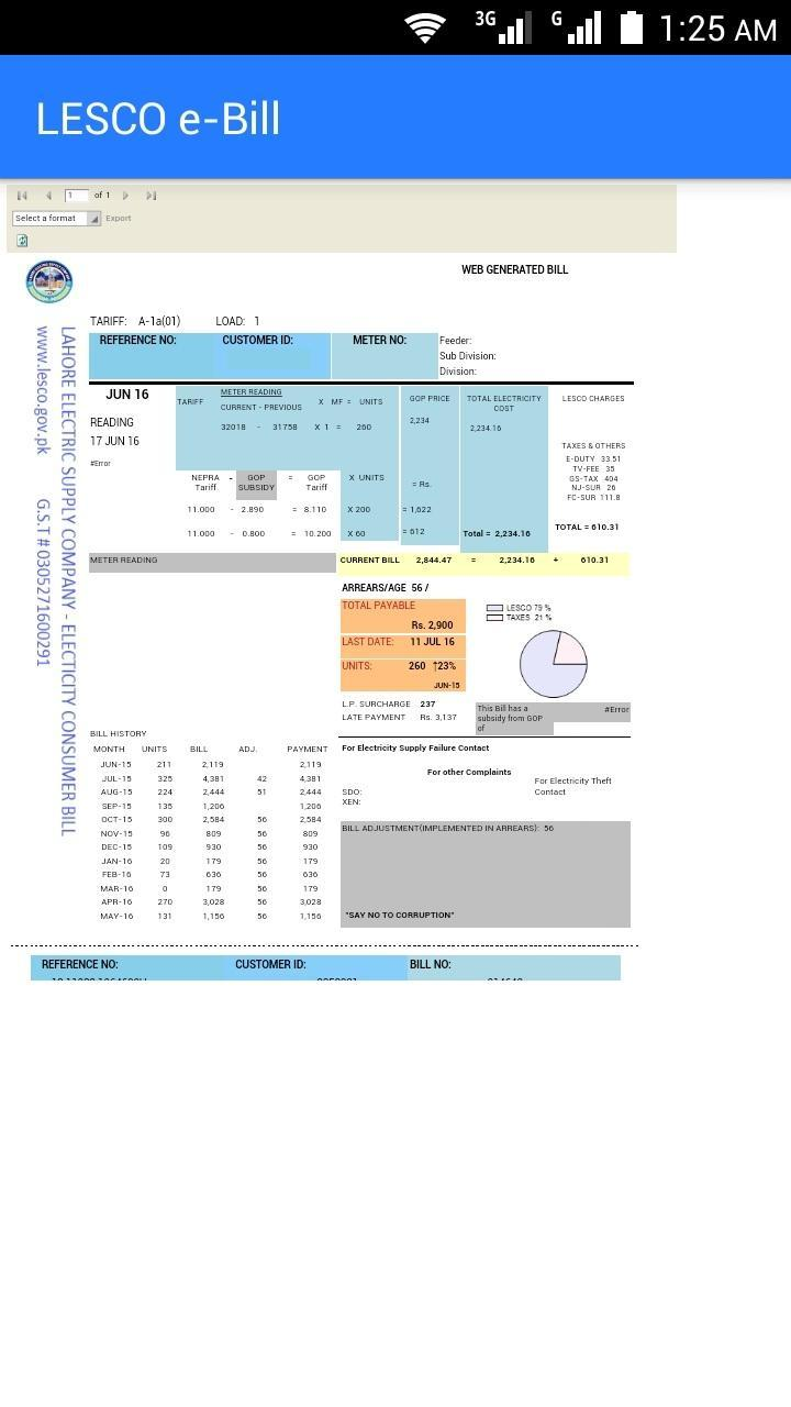 LESCO Bill Check Online for Android - APK Download