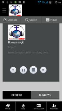 Bonapasogit FM - Tarutung screenshot 3