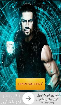 Roman reigns HD Wallpaper poster
