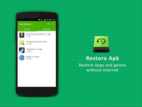 App Backup screenshot 1