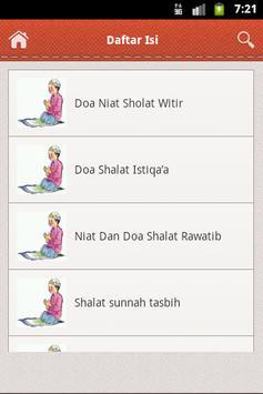 Niat Sholat Dan Doa apk screenshot
