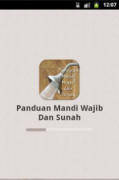 Panduan Mandi Wajib Dan Sunah poster