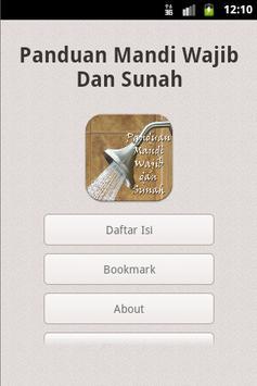 Panduan Mandi Wajib Dan Sunah screenshot 1