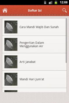 Panduan Mandi Wajib Dan Sunah screenshot 2