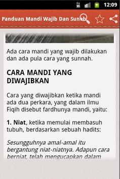 Panduan Mandi Wajib Dan Sunah screenshot 3