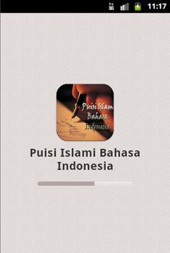 Puisi Islami Bahasa Indonesia poster