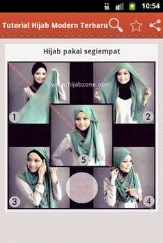 Tutorial Hijab Modern Terbaru screenshot 3