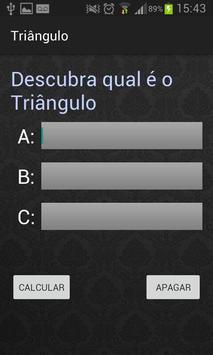 Classificação do triângulo apk screenshot