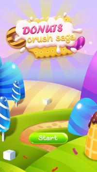 Donuts Crush - Match 3 Game poster