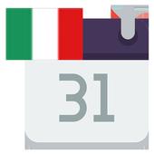 Italia Calendario icon