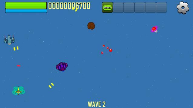 Plazma Space Combat Endless apk screenshot