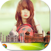India Flag 15 August Facebook DP Photo Frame 2018 icon
