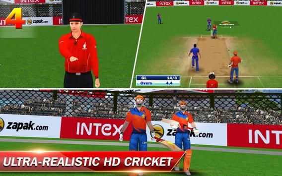 Gujarat Lions 2017 T20 Cricket apk स्क्रीनशॉट