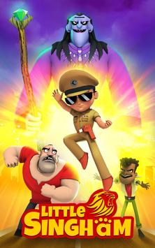 Little Singham captura de pantalla 16