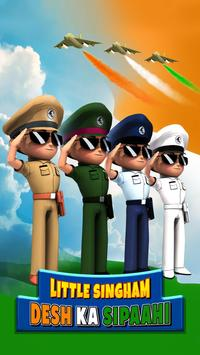 Little Singham captura de pantalla 1