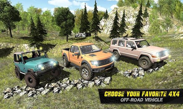 4x4 Offroad Jeep Driving 2017 apk screenshot