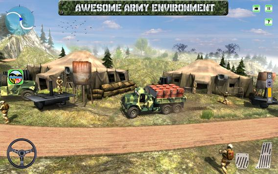 Army Oil Tanker Hill Transport apk screenshot