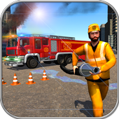Real Firefighter Rescue Sim 3D: Emergency Driver icon