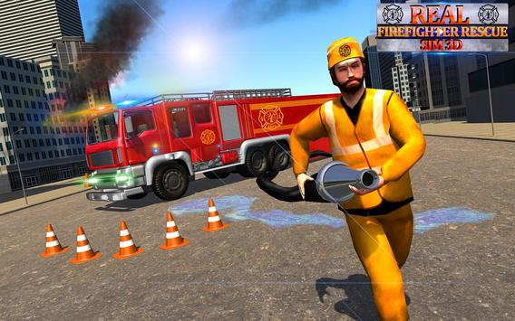 Real Firefighter Rescue Sim 3D: Emergency Driver screenshot 8