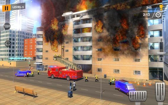 Real Firefighter Rescue Sim 3D: Emergency Driver screenshot 1