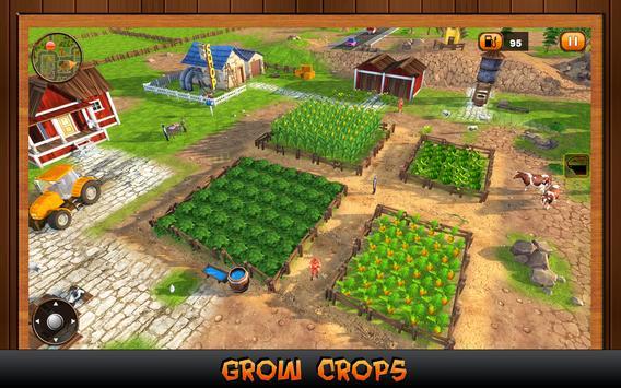 Farm Tractor Simulator 2017 apk screenshot