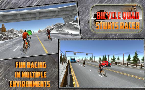 Bicycle Quad Stunts Racer apk screenshot