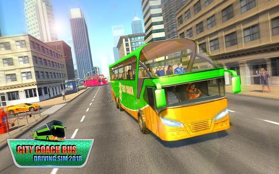 City Coach Bus Driving Sim 2018 screenshot 10