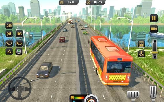 City Coach Bus Driving Sim 2018 screenshot 12