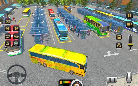 City Coach Bus Driving Sim 2018 screenshot 1