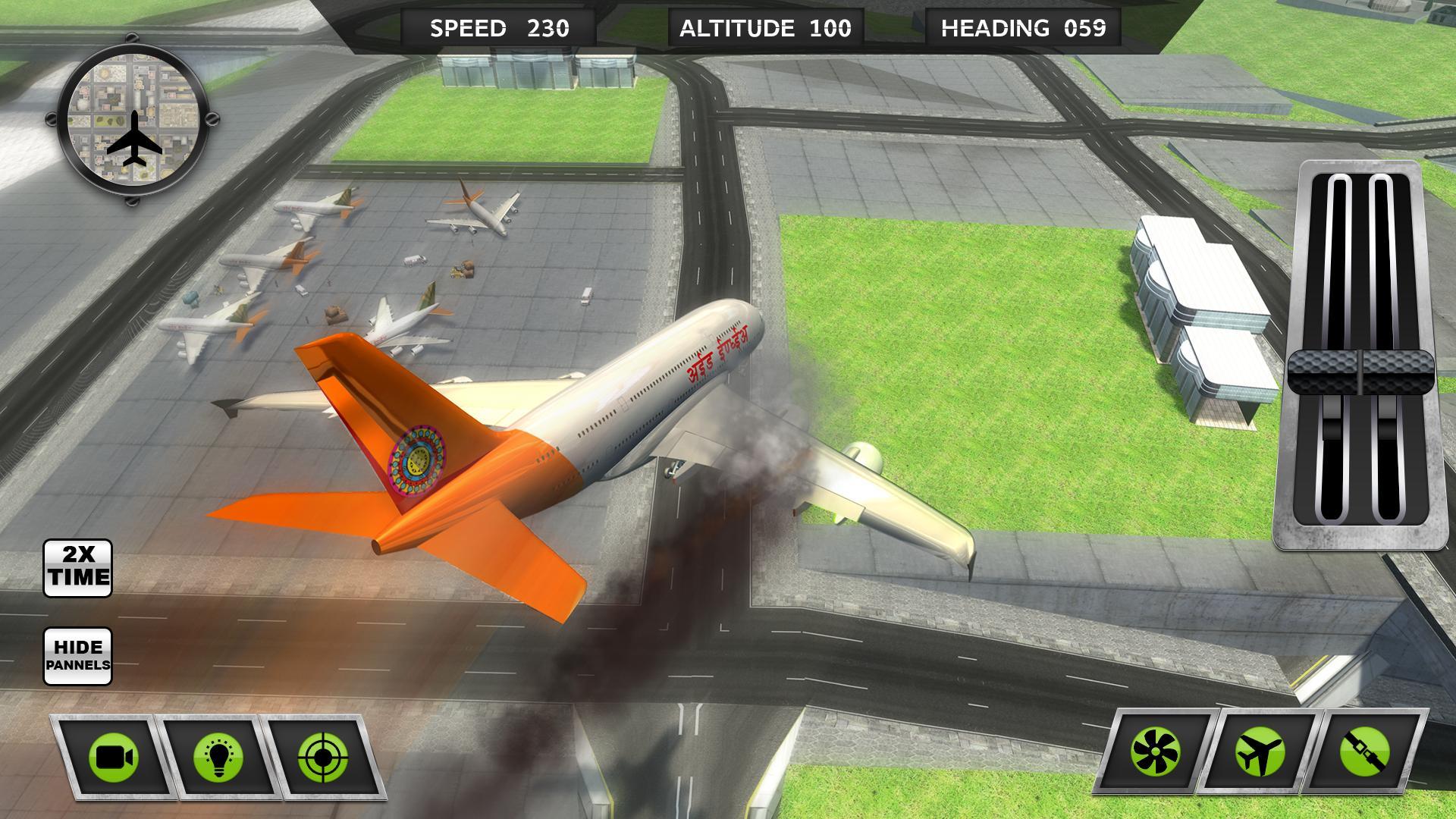 Indian Flight Pilot:Airplane Flying Simulator 2018 for