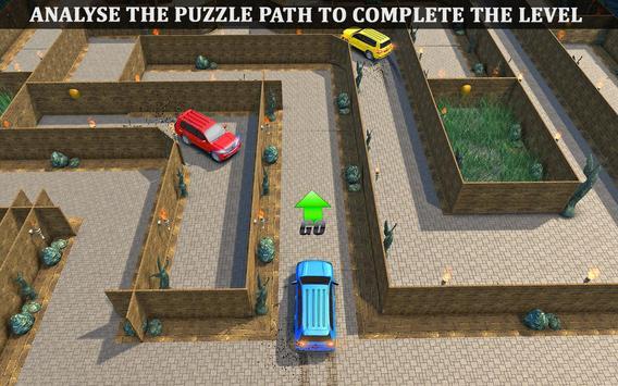 Parado Car Maze Parking Adventure 2018 screenshot 4