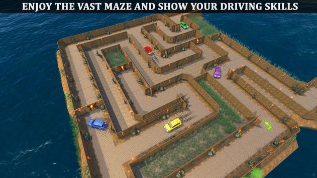 Parado Car Maze Parking Adventure 2018 screenshot 6