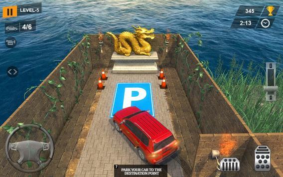 Parado Car Maze Parking Adventure 2018 poster