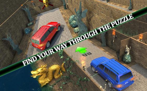 Parado Car Maze Parking Adventure 2018 screenshot 13