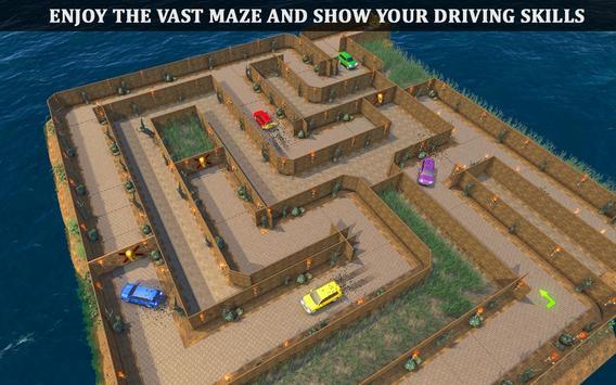 Parado Car Maze Parking Adventure 2018 screenshot 1