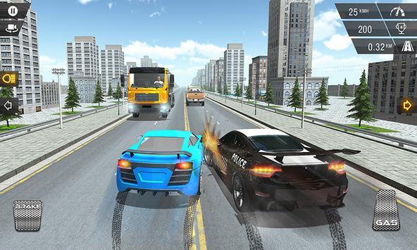 Racing In Police Car apk screenshot