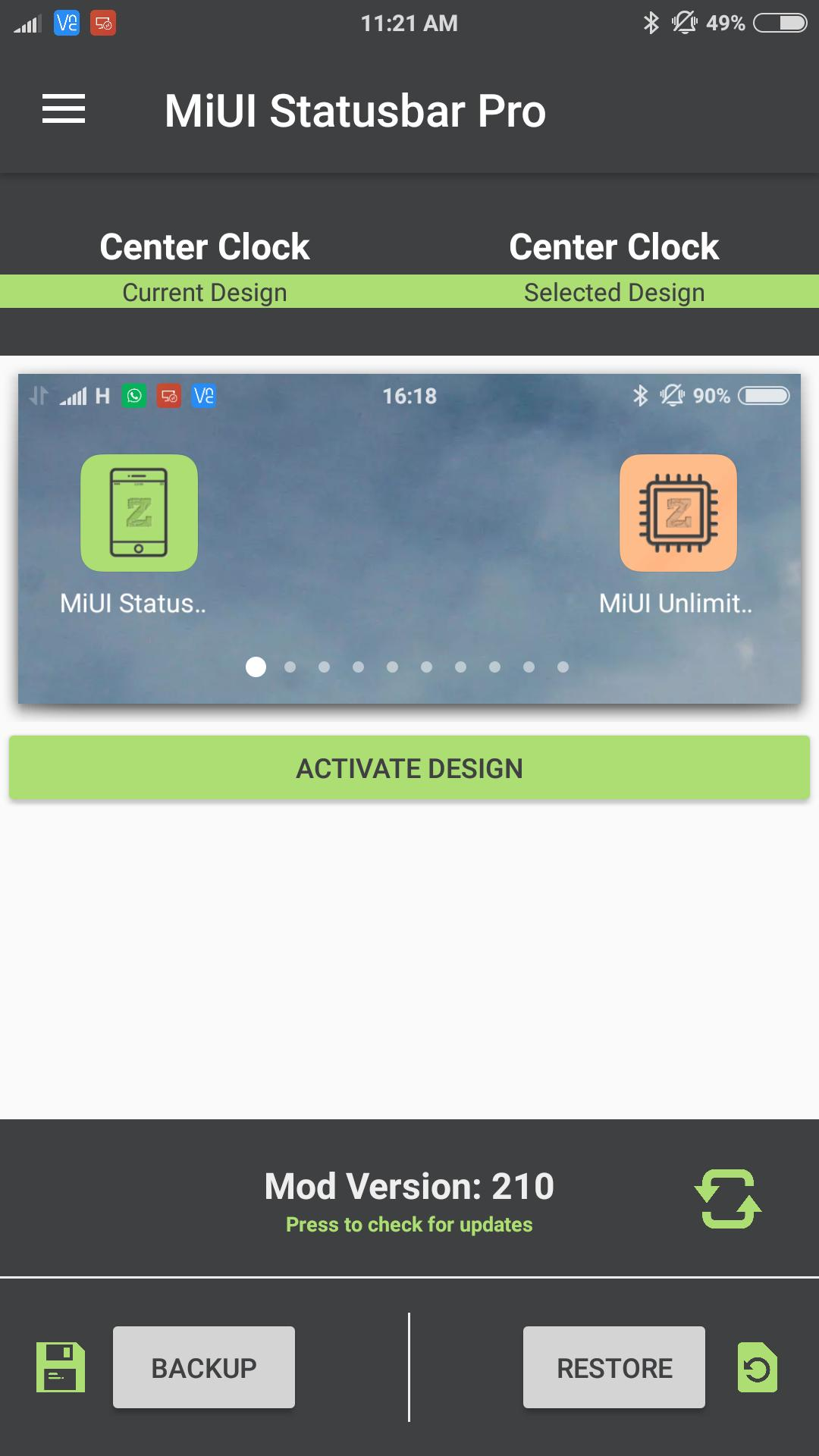 MiUI Statusbar Pro for Android - APK Download