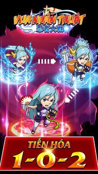 Vua Nhẫn Thuật - Nhẫn Giới 2D apk screenshot