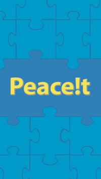 Peace!t poster